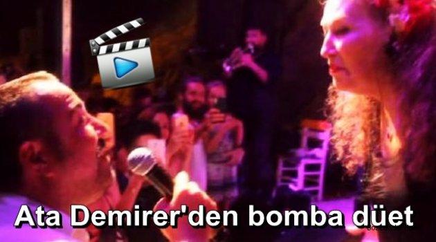 Ata Demirer, Suzan Kardeş ile düet yaptı