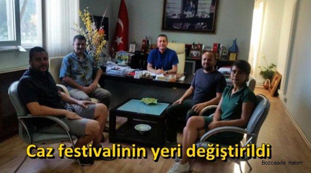 """Başkan Yılmaz, """"Bozcaada Caz Festivali""""nin yerinin değiştirildiğini açıkladı"""