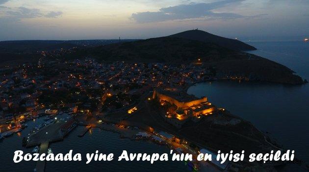 Bozcaada Avrupa'nın ilk 10 adası arasında gösterildi