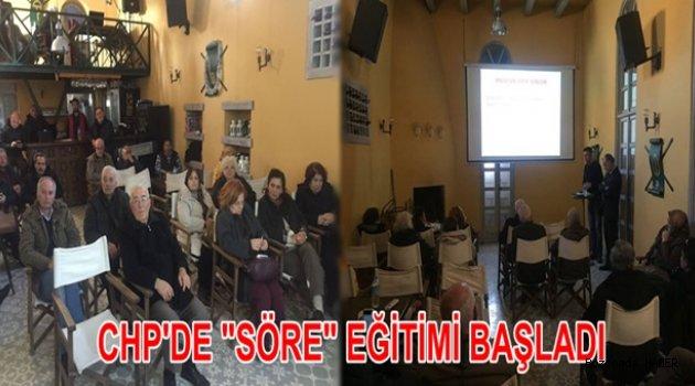 Bozcaada CHP İlçe Örgütü, olası erken seçim ve referandum için çalışmalara başladı
