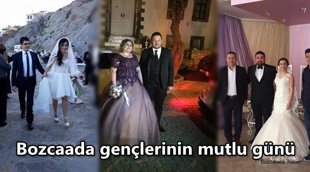 Bozcaada düğün sezonuna hızlı girdi