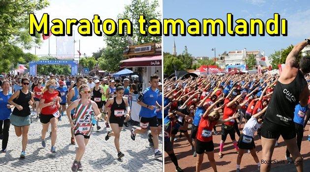 Bozcaada Yarı Maratonu tamamlandı