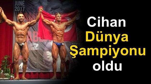 Bozcaada'dan dünya şampiyonu çıktı