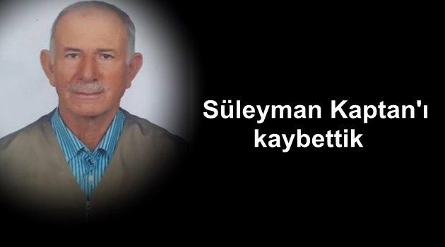 "Bozcaadalı ""Süleyman Kaptan""ı kaybettik"