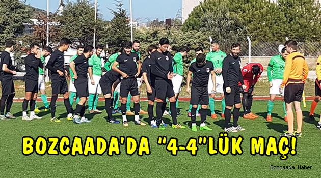 Bozcaadaspor ile Kepezspor karşılaşması 8 gole sahne oldu!