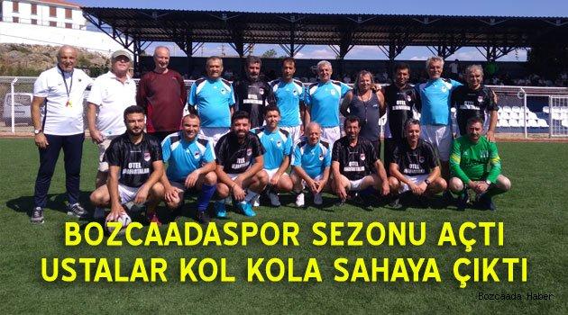 Bozcaadspor'un sezon açılışında renkli görüntüler