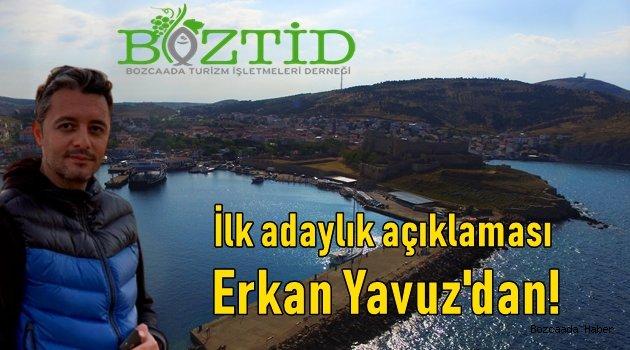 BOZTİD başkanlığına ilk aday açıklaması Erkan Yavuz'dan geldi