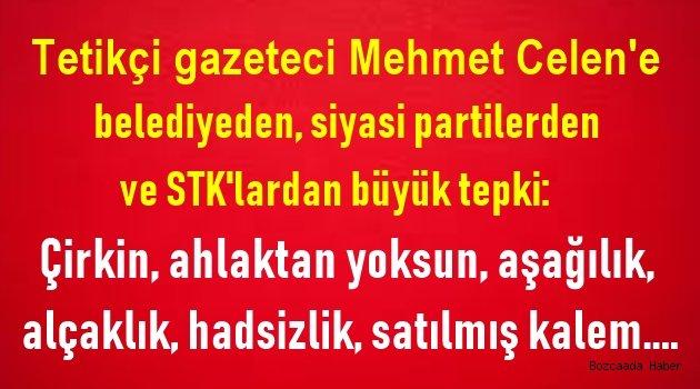 Çanakkaleli gazeteci Mehmet Çelen'den taslak plan için çirkin benzetmeler