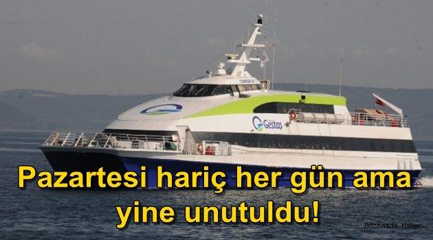Deniz otobüsü sefer sayısı arttı ama adalı yine unutuldu