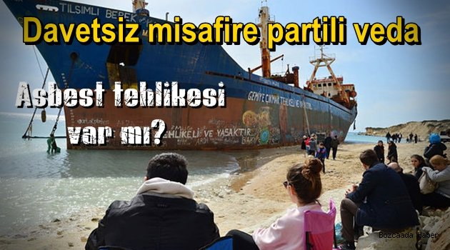 Gemi sökülmeye başlandı, söküm zarar verecek mi?