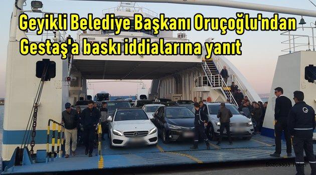 Geyikli Belediye Başkanı Oruçoğlu'ndan o iddialara ilişkin açıklama