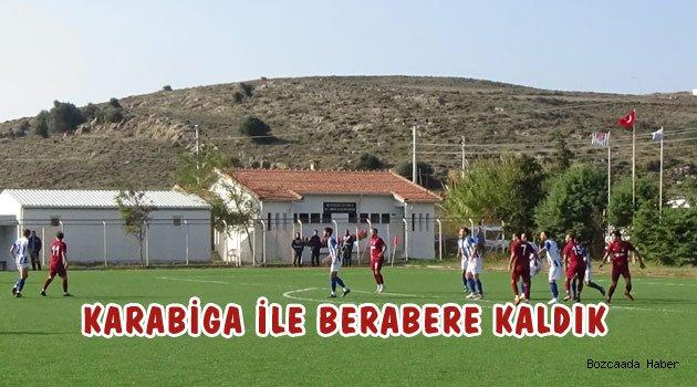 Karabiga'ya iki puan kaptırdık: 1-1