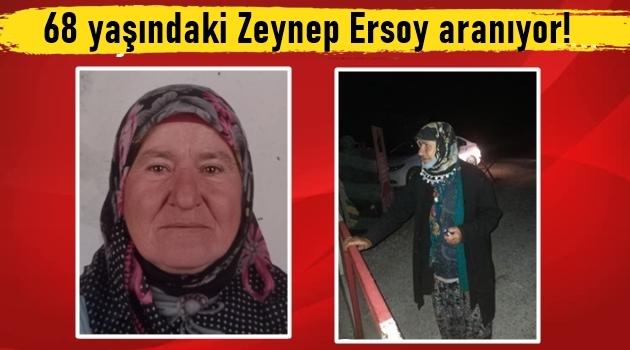 68 yaşındaki Zeynep Ersoy kayıp!