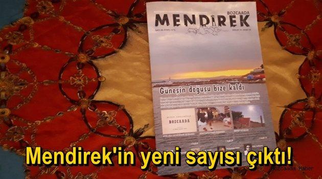 Ada dergisi Mendirek'in yeni sayısı çıktı!