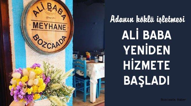 """Ali Baba Meyhane yeniden """"merhaba"""" dedi"""