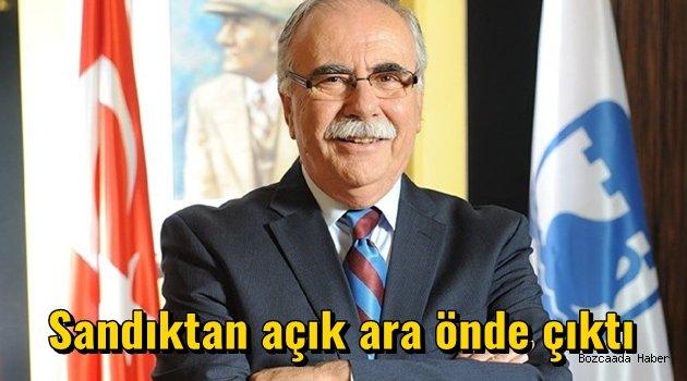 Başkan Gökhan, sandıkta rakiplerine fark attı