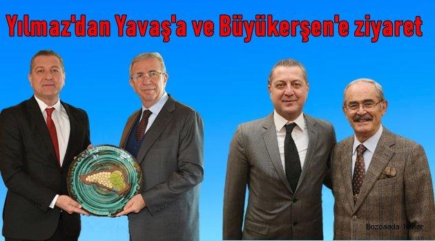 Başkan Yılmaz'dan Ankara ve Eskişehir'e çıkarma!