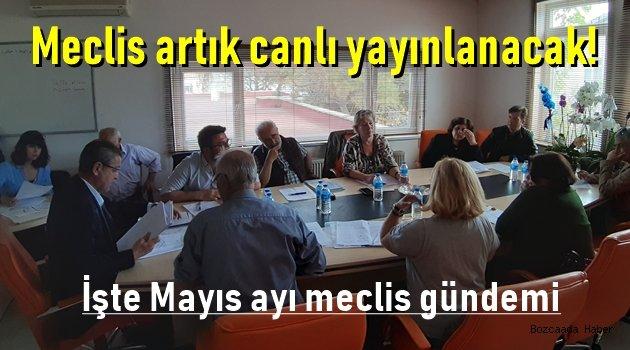 Belediye meclisi mayıs ayı toplantısı yapıldı