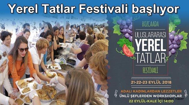 Bozcaada Yerel Tatlar Festivali başlıyor