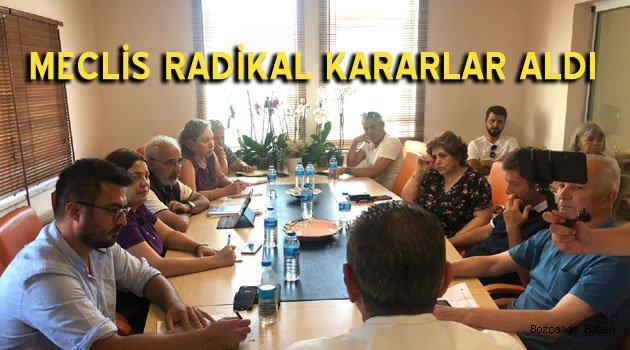 Bozcaada'da meclis toplantısından radikal kararlar çıktı