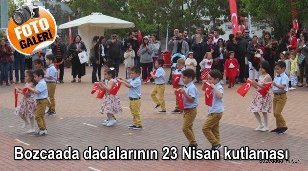 Bozcaadalı miniklerin 23 Nisan Ulusal Egemenlik ve Çocuk Bayramı