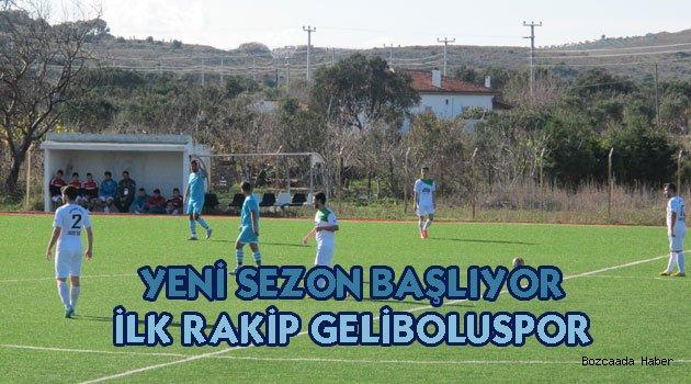 Bozcaadaspor yeni sezonun ilk maçında Geliboluspor ile karşılaşacak