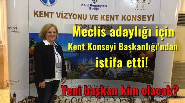 Evergen Kent Konseyi Başkanlığı'ndan istifa etti!