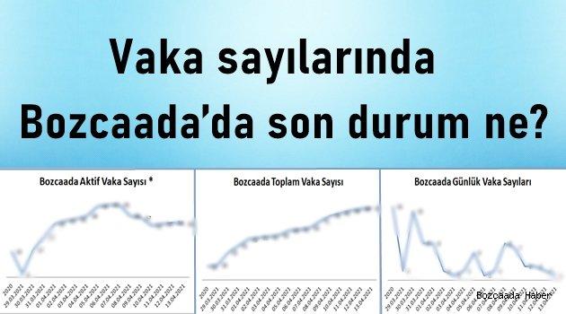 Grafiklerle Bozcaada'nın koronavirüs tablosu!