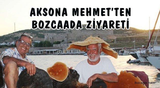 Süngerci Aksona Mehmet Bozcaada'daydı