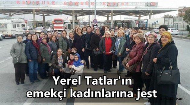Yerel Tatlar'ın emekçi kadınlarına Edirne gezisi jesti