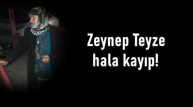 Zeynep Ersoy hala evine dönmedi!