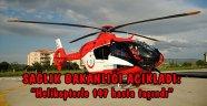 10 yılda Bozcaada'dan 147 hasta helikopter ile taşındı