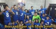 Bozcaadaspor U16 finalde!