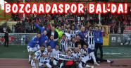 Bozcaadaspor Dardanel'i devirdi, BAL'a çıktı!