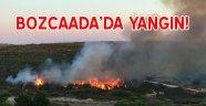 Bozcaada orman yangını!