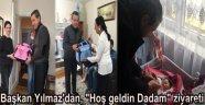 Bozcaada Belediyesi'nden yeni doğan dadalara sürpriz