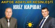 AKP'de iki önemli isim adaylıklarını açıkladı
