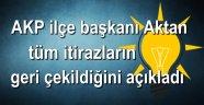 AKP'li Burak Aktan itirazları geri çektiklerini açıkladı