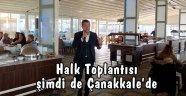 Başkan, Çanakkale'deki seçmenleriyle buluşacak