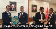 Başkan Yılmaz'dan İmamoğlu'na ziyaret