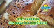 Bozcaada Çiçek Fırın'ın leziz ekmekleri