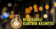 Bozcaada'da kısa süreli elektrik kesintisi yaşanacak