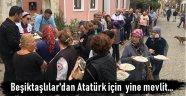 Bozcaadalı Beşiktaşlılar'dan Atatürk ve silah arkadaşları anısına mevlit ve pilav hayrı