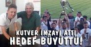 Bozcaadaspor'da Kutver anlaşma yeniledi