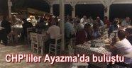 CHP Bozcaada İlçe Başkanı Durmuş, partililer ile akşam yemeğinde buluştu
