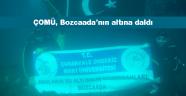 ÇOMÜ, Bozcaada'da denizin altında