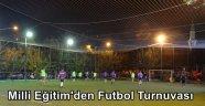 İlçe Milli Eğitim'den Futbol Turnuvası