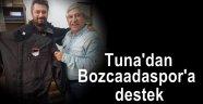 Murat Tuna'dan Bozcaadaspor'a mont sponsorluğu