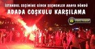 Seçim için İstanbul'a gidenler adaya döndüler