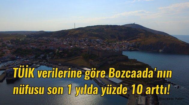 TÜİK verilerine göre Bozcaada'nın nüfusu arttı
